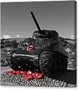 Tank Memorial Canvas Print