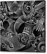 Tapestry Of Gods - Tlaloc Canvas Print