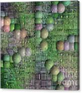 Technology Abstract Background Canvas Print