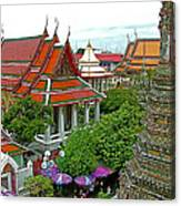 Temple Of The Dawn-wat Arun In Bangkok-thailand Canvas Print