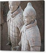 Terracotta Warriors, China Canvas Print