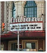 Terre Haute - Indiana Theater Canvas Print