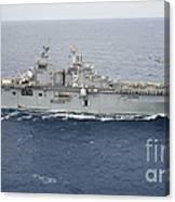 The Amphibious Assault Ship Uss Essex Canvas Print