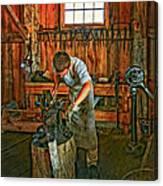 The Apprentice 2 Canvas Print