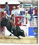 The Black Bull Canvas Print