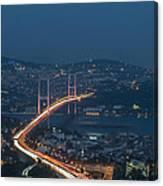 The Bosphorus Bridge  Canvas Print