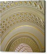 The Ceiling Of Union Station Canvas Print