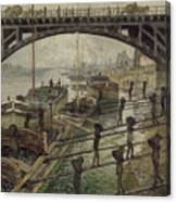 The Coalmen Canvas Print