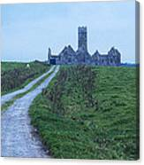 The Deserted Abbey Canvas Print