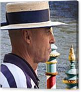 The Gondolier Canvas Print