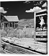 The Last Frontier - Bodie - California Canvas Print