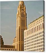 The Leveque Tower Of Columbus Ohio Canvas Print