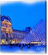 The Louvre Canvas Print