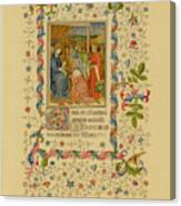 The Magi With Mary And Jesus -  Page Canvas Print