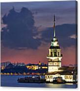 The Maiden's Tower Canvas Print