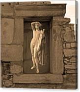 The Palaestra - Apollo Sanctuary Canvas Print