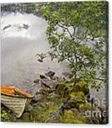 The Rowing Boat Canvas Print