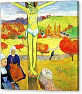 The Yellow Christ Canvas Print