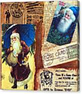 There Is A Santa Claus Canvas Print
