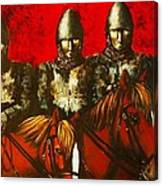 Three Knights Canvas Print