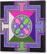 Tibetan Mandala Canvas Print