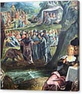Tintoretto's The Worship Of The Golden Calf Canvas Print