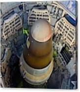 Titan Missile In Silo Canvas Print