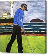 Tom Watson Turnberry 2009 Canvas Print