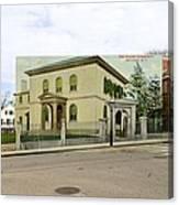 Touro Synagogue In Newport Rhode Island Canvas Print
