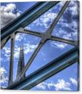 Tower Bridge And The Shard Canvas Print