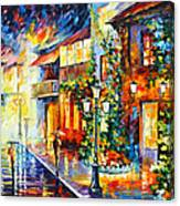 Town From The Dream Canvas Print