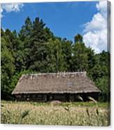 Traditional Polish Cottage House Canvas Print
