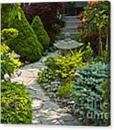 Tranquil Garden  Canvas Print