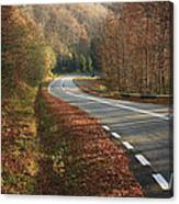 Transfagarasan Road Carpathian Mountains Romania  Canvas Print
