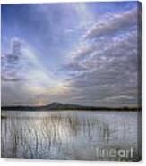 Traverse Lake Canvas Print