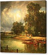 Troyon's The Approaching Storm Canvas Print