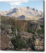 Tsaranoro Mountains Madagascar 1 Canvas Print
