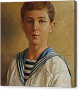 Tsarevich Alexei Of Russia Canvas Print