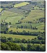 Tuscany - Val D'orcia Canvas Print