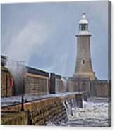 Tynemouth Pier Canvas Print