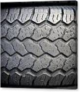 Tyre Tread Canvas Print