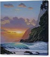 Under A Tropical Sun Canvas Print