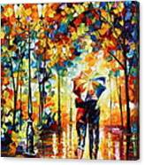 Under One Umbrella Canvas Print