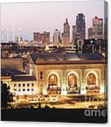 Union Station Evening Canvas Print
