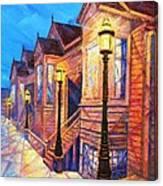 Union Street Canvas Print