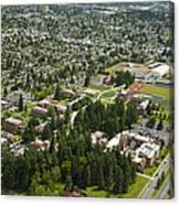 University Of Puget Sound U.p.s., Tacoma Canvas Print