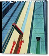 New Yorker October 12th, 2015 Canvas Print