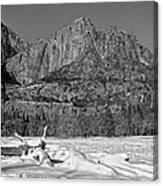 Snowy Yosemite Canvas Print