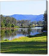 Up Brisbane River Canvas Print