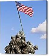 Us Marine Corps Memorial Canvas Print